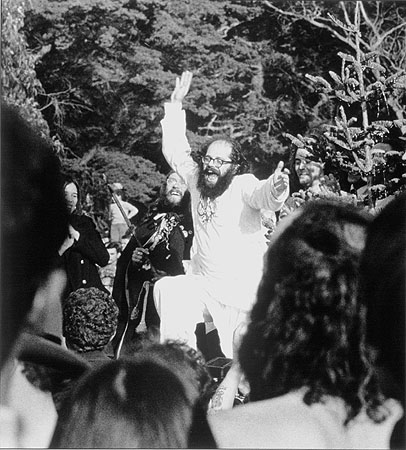 Allen Ginsberg, Human Be-In festival, San Francisco, 1967